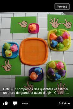 Jeu Preschool Math, Kids Education, Teaching, Experiment, Counting, Preschool, Early Education, Maths Area, Kids Math