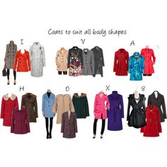 Coats to suit all the body shapes! - Polyvore