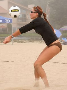 beach volleyball!