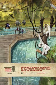 Denver Zoo Ad