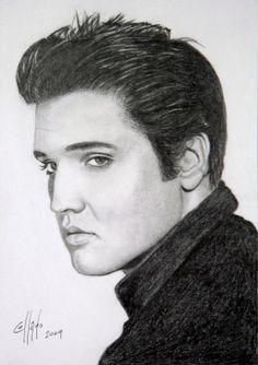 pictures of elvis | Elvis Presley Juan Carlos Moreno Collado- Artelista.com