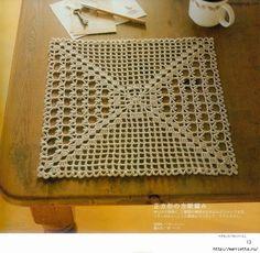 Crochet Knitting Handicraft: crochet doilies