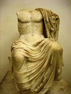 Ancient Roman statue of Zeus