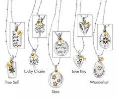 Brighton pendant necklaces. Love them all!