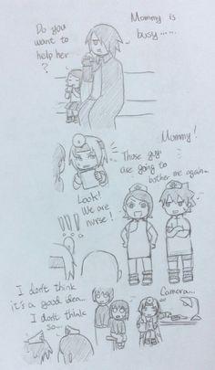 Doctor Sakura Part10 Sasuke Sakura Sarada, Naruto Shippuden Anime, Naruto And Sasuke, Anime Naruto, Naruto Comic, Naruto Funny, Naruto Clans, Naruto Fan Art, Naruto Series