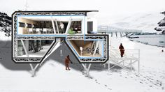 This Antarctic Research Base Actually Looks Pretty Cozy | Popular Science