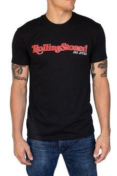 Rolling Stoned - Jiu Jitsu - T-Shirt asgard503 60/40 cotton polyester Asgard503 10thplanet