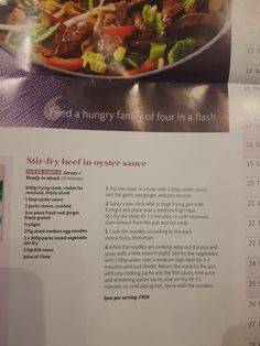 Slimming World Stir fry beef in oyster sauce Slimming World Stir Fry, Slimming World Sweets, Easy Slimming World Recipes, Stir Fry Sauce, Beef Stir Fry, Fried Beef, Oyster Sauce, Oysters, Asian Recipes