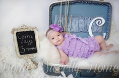 HomeSweetlyHome.blogspot.com 3 month photo ideas. Sneak Peek. Baby Photography