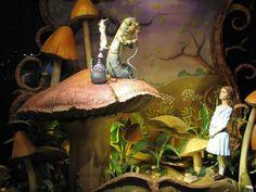 Storybook vintage alice art