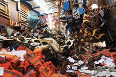 50-FOOT ART INSTALLATION RECREATING CONSTA CONCORDIA DISASTER