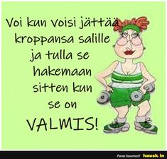 Voi kun voisi jattaa.. Can't Stop Laughing, Finland, Positive Vibes, Haha, Funny Pictures, Jokes, Inspirational Quotes, Positivity, Thoughts