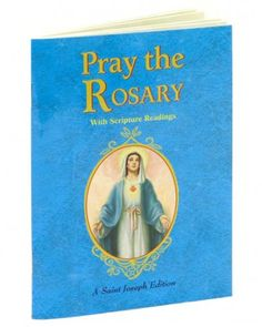 Buy the popular Catholic Book 'Pray the Rosary' with a great context for praying the Mysteries of the Blessed Mother and Jesus, her Son! Rosary Novena, Rosary Prayer, Praying The Rosary, Prayer Book, Books To Read Online, Reading Online, Short Devotions, Catholic Books, Catholic Store