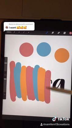 Digital Painting Tutorials, Digital Art Tutorial, Art Tutorials, Digital Art Beginner, Ipad Hacks, Diy Art, School Organization Notes, Hand Lettering Tutorial, Doodles