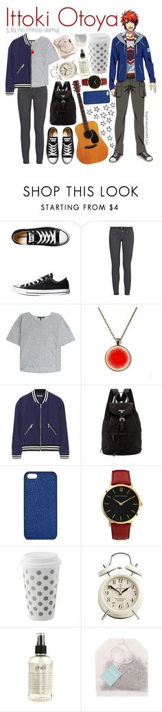 """Ittoki Otoya [Uta no Prince-sama]"" by ibuperisesat ❤ liked on Polyvore featuring Converse, rag & bone, Rebecca Minkoff, Prada, Maison Takuya, Larsson & Jennings, philosophy, women's clothing, women and female"