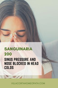 Winter is this time of the year that most of us are sick with a cold! Sinus infections and congestion are very often part of the symptoms. This Homeopathic cold remedy will help you combat those…More Quick Cold Remedies, Natural Cold Remedies, Cough Remedies, Homeopathic Remedies, Head Cold Remedies, Health Remedies, Alternative Health, Alternative Medicine, Cold And Flu Relief