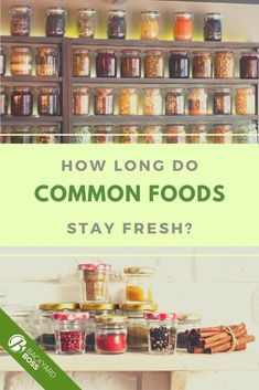 How long does loose tea stay fresh? What about baby food? Crackers? Sun dried tomatoes? Look up everything with our handy guide! Baby Food Recipes, Meat Recipes, Refrigerator Pickles, Stay Fresh, Pantry Storage, Food Waste, Sun Dried, Grilling, Bbq