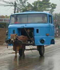 véhicule Jugaad en Inde.