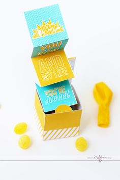 Cheer Up Kit Sunshine in a Box is such a cute idea for a rainy day!