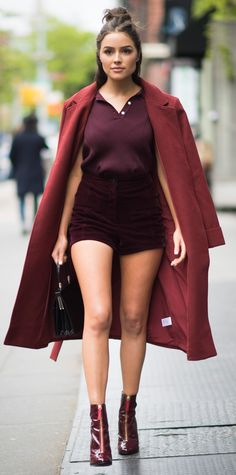 See How Celebrities Wear Their Shorts in Their Teens, 20s, 30s, and 40s - Olivia Culpo, 24 from InStyle.com