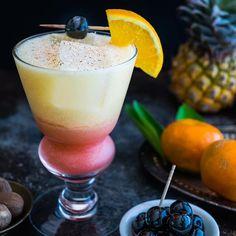 Island Sunrise Cocktail on @the_feedfeed https://thefeedfeed.com/husbandsthatcook/island-sunrise-cocktail