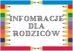 informacje Diy And Crafts, Teaching, Education, School, Artwork, Paper, Work Of Art, Schools, Learning