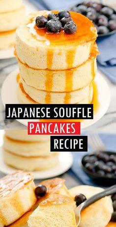 How to Make Japanese Souffle Pancake