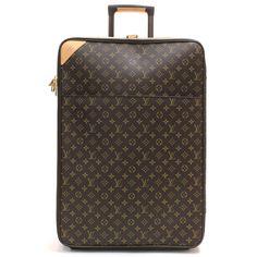 0269a619d630  2000.00 Louis Vuitton Monogram Canvas Pegase 65 Rolling Luggage
