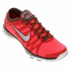 Tênis Nike Flex Supreme TR 3 - Rosa+Vermelho