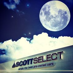 This what the Moon looks like every night here at Scott Select