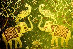 Elephants in Bollywood room, Lawendowy Zdroju / Poland