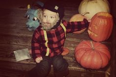 Cutest toddler boy costume.