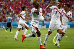 Costa Rica vence Uruguai de virada por 3 a 1 no Castelão | #Castelão, #Copa, #Copa2014, #CopaDoMundo, #CostaRica, #GésioPassos, #Uruguai