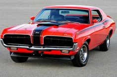 Rare 1970 Mercury Cougar Eliminator Spent 20 Years in Paint Jail on Way to Gorgeous Restoration - Hot Rod Car Ford, Ford Trucks, Mercury Cars, Mercury Auto, Car Man Cave, Ford Lincoln Mercury, Ford Classic Cars, Pony Car, Unique Cars