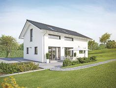 Sunshine - 110 mit Satteldach - #Einfamilienhaus von WeberHaus GmbH & Co. KG | HausXXL #Fertighaus #Energiesparhaus #klassisch #Satteldach
