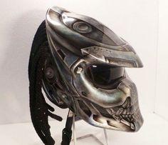 Alien Helmet  Predator Helmet  Motorcycle Helmet
