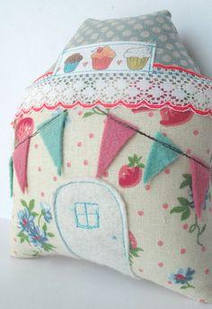 house of cute! love the felt bunting