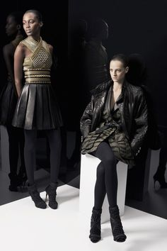 See the complete Balmain Pre-Fall 2014 collection.