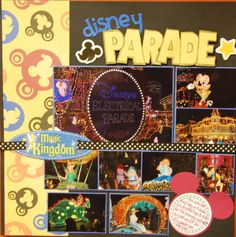 disney Parade - Scrapbook.com - The Electrical Parade - so much fun.