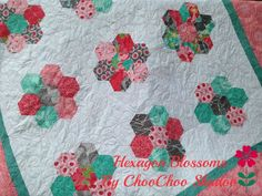 Riley Blake Designs -- Cutting Corners: Hexagon Blossoms Quilt