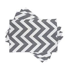 Zen Creative Designs Charcoal and White Chevron Placemats... https://www.amazon.com/dp/B00RQ0T1LQ/ref=cm_sw_r_pi_dp_x_rBrkybJ12A864