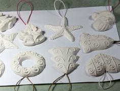 Ёлочные игрушки из гипса своими руками - Поделки на новый год своими руками