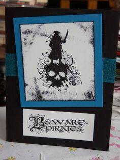 Pirate birthday card #4