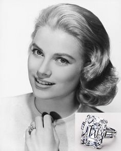 WOW perfect is a understatement Grace Kelly wears her Cartier