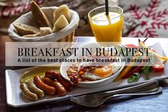 12 Budapest breakfast places for all budgets Breakfast Cafe, Breakfast Restaurants, Breakfast Options, Best Breakfast, Breakfast Recipes, Budapest Winter, Budapest Restaurant, Visit Budapest, Vacation List