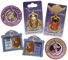 New Pins to Collect or Trade Coming to Walt Disney World Resort in 2013. I want the Lady ones!