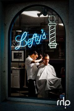 Barber Shops by Rob Hammer, via Behance