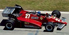 Patrick Tambay, Ferrari 126 C2B, 1983 Brazilian GP