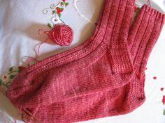 strawberry sock pattern