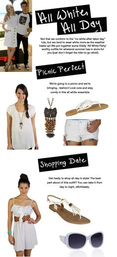 How to: wear all white!